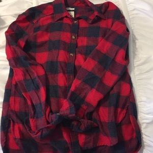 Women's flannel from American Eagle.